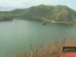 Batangas City, Filippinerne: Taal Volcano