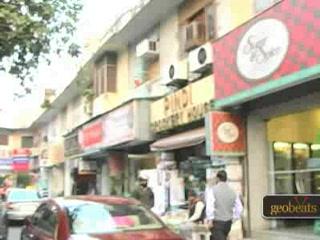 New Delhi, Indien: Khan Market