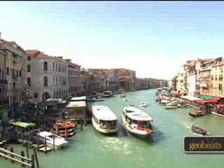 Venezien, Italien: Rialto Bridge and Market