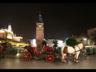 Cracovie, Pologne : Krakow slide show:)
