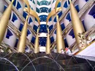 Burj Al Arab Jumeirah: Burj Al Arab's Lobby.