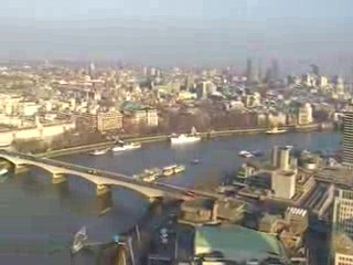 Londra, UK: view from london eye