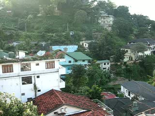 view over Kandy