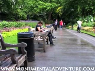 Victoria Embankment Gardens - London UK