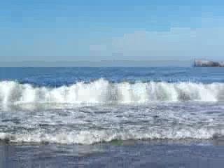 Hotel Fontan Ixtapa: waves in Ixtapa