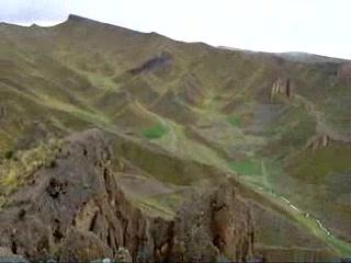 Oruro, โบลิเวีย: canyon