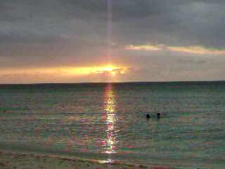 A Negril, Jamaica sunset...