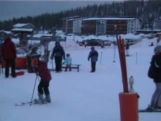 Yllasjarvi, Finland: Skiing in Yllas