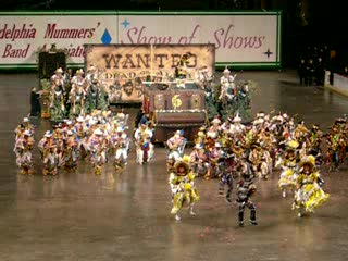 Atlantic City, NJ: Mummers at Old Convention Center
