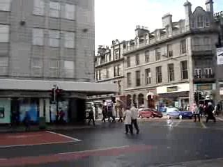 Абердин, UK: Union Street, Aberdeen