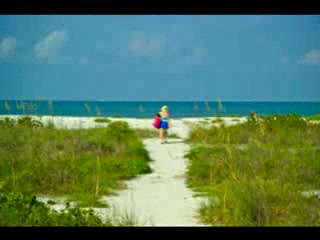 Tropical Winds Motel & Cottages: Bowman's-Turner Beach Sanibel Island Tropical Winds Access Point