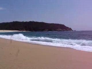 Huatulco, Mexiko: Cacaluta Beach