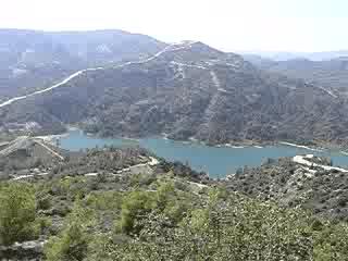 Cypern: Cyprus lakes (ooops, dams really)