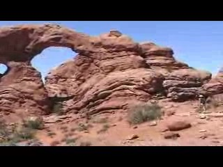The Windows Section Arches N.P.