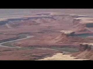 Parc national de Canyonlands, UT : The Island In the  sky