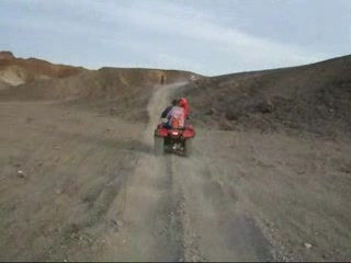 Marsa Alem, Mısır: Quad Biking from the Tulip Resort