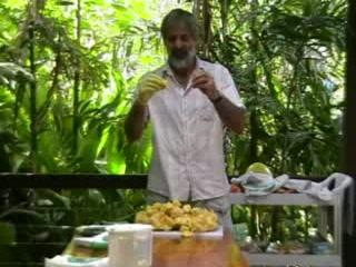 Cape Trib Exotic Fruit Farm: Tasting a Jakfruit