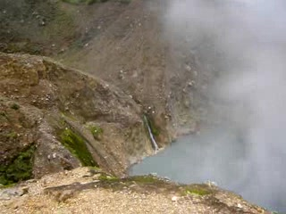 The Only One Real Boiling Lake in The World