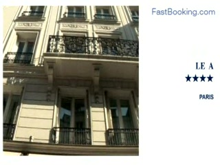 โฮเต็ล เลอ เอ: Fastbooking.com presents Hotel Le A, Paris, France