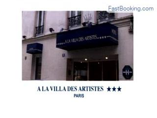BEST WESTERN La Villa Des Artistes : Fastbooking.com presents Hotel La Villa des artistes, Paris, France