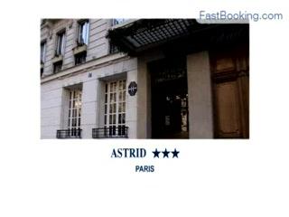 Fastbooking.com presents Hotel Astrid, Paris, France