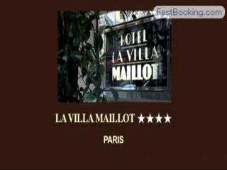 Fastbooking.com presents La Villa Maillot, Paris, France