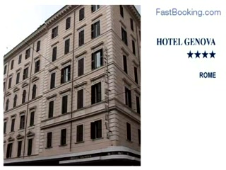 Fastbooking.com presents Hotel Genova, Rome, Italy