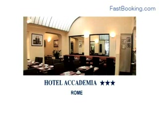 Accademia Hotel : Fastbooking.com presents Hotel Accademia, Rome, Italy