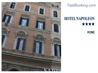 Fastbooking.com presents Hotel Napoleon, Rome, Italy