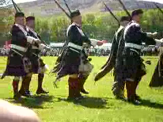 Blair Atholl, UK: March of the Atholl Highlanders