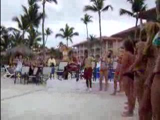Majestic Colonial Punta Cana: Bikini contest apirl 2007