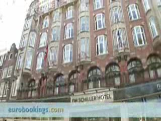NH Amsterdam Schiller: Video clip Hotel Nh Schiller in Amsterdam Provided by Eurobookings.com