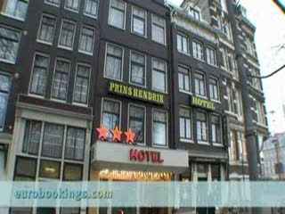 Video clip of Hotel Prins Hendrik in Amsterdam by Eurobookings.com