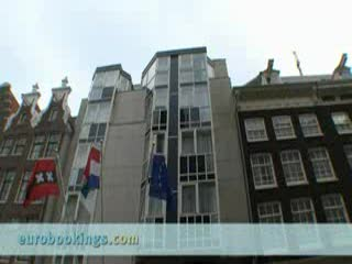 Radisson Blu Hotel, Amsterdam: Video clip of Hotel Radisson SAS in Amsterdam by EuroBookings.com
