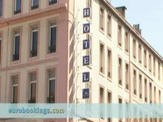 New Hotel Saint Charles: Video clip of New Hotel Select Saint Charles Train Station Marseille.