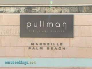 nhow Marseille at Palm Beach: Video clip of Pullmann Hotel Palm Beach Marseille by EuroBookings.com