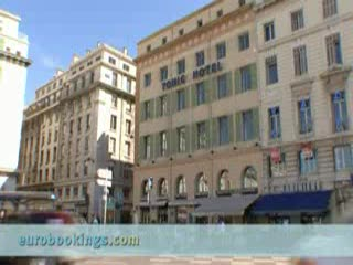 Grand Tonic Hotel Vieux Port : Video clip of Hotel Tonic in Marseille Provided by EuroBookings.com