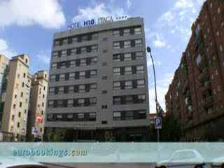H10 Itaca Hotel: Video clip of Hotel H10 Itaca Barcelona Provided by EuroBookings.com