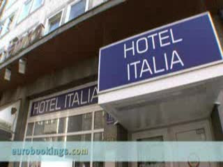 Video clip from Hotel Italia in Munich Provided by EuroBookings.com