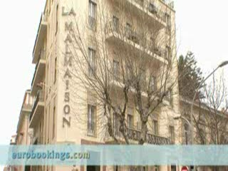 La Malmaison Nice : Video clip from Hotel La Malmaison in Nice Provided - EuroBookings.com