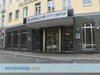 NH Düsseldorf Königsallee: Video clip of NH Hotel Dusseldorf City Center by EuroBookings.com