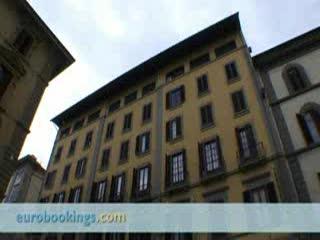 Hotel Cosimo de' Medici: Video clip of Hotel Cosimo De Medici Florence by EuroBookings.com