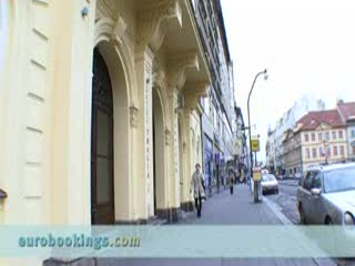 Eurostars Thalia Hotel: Video clip from Eurostars Hotel Thalia in Prague by EuroBookings.com