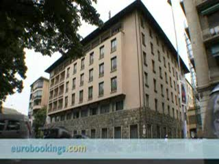 FH Grand Hotel Mediterraneo: Video clip of Grand Hotel Mediterraneo Florence by EuroBookings.com