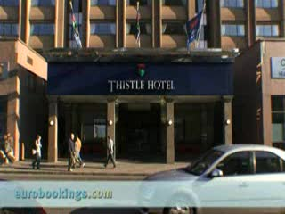 Doubletree by Hilton Hotel Glasgow Central: Video clip of Hotel Thistle Glasgow Provided by EuroBookings.com