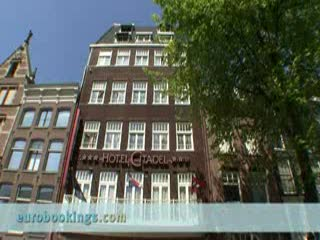 Video clip Hotel Citadel in Amsterdam Provided by EuroBookings.com