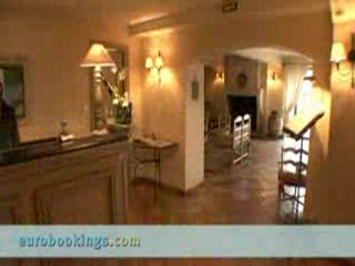 French Riviera - Cote d'Azur, France: Video clip of Hotel De Mougins in Mougins Provided by EuroBookings.com
