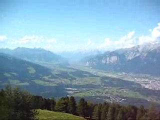 Инсбрук, Австрия: Patscherkofel  Incredible Austrian Alps over Innsbruck.