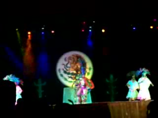 Grand Sunset Princess All Suites Resort: Mexican show at GSP