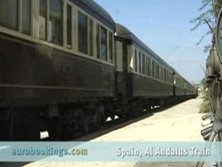 Andalucia, Spain: Video highlights from Al Andalus Express Train Spain by EuroBookings